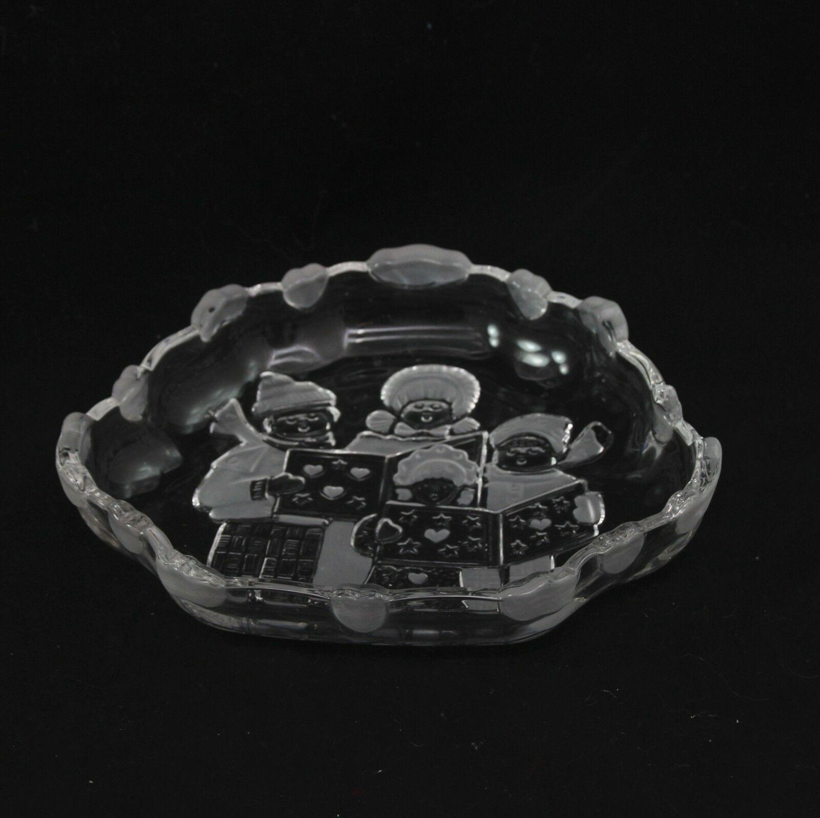 Mikasa Christmas Carolers Candy Trinket Dish image 2