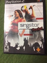Sony Playstation   PS2 Video Game Disk Singstar untested good condition - $6.53