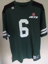NWT NFL Brand Mark Sanchez # 6 New York Jets Football Jersey Men L Never Worn!!! - $25.53