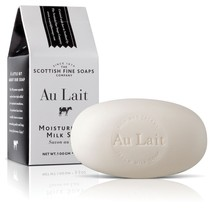 Scottish Fine Soaps Au Lait Milk Beauty Soap 100g 3.5oz - $8.70
