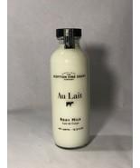 SCOTTISH FINE SOAPS AU LAIT BODY MILK 15.5 OZ LOTION GLASS BOTTLE - $15.60