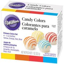Candy Colors .25oz 4/Pkg-Yellow, Orange, Red & Blue - $11.80