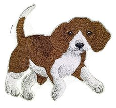 "Amazing Custom Dog Portraits [Beagle] Embroidery Iron On/Sew patch [5"" x... - $9.89"