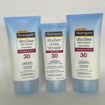 3X Neutrogena Ultra Sheer Dry-Touch Sunscreen SPF 30 EXP 9/2020 - $16.82