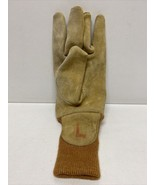 Wildland Firefighter Glove Left Only Nubuck Leather Firefighting Size Large - $9.74