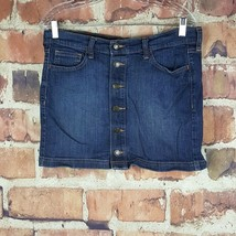 Old Navy Womens Denim Skirt Size 8 Button Front  - $19.79