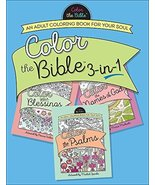 Color the Bible 3-in-1: An Adult Coloring Book for Your Soul [Paperback]... - $14.41