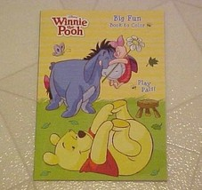 Coloring Activity Book Winnie The Pooh & Friends Play Pals Disney New - $4.95