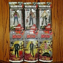 The Walking Dead McFarlane Action Figure Lot - $59.40