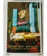 Binions Las Vegas Casino Playing Cards Cardback Deck  - $5.89