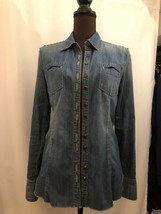 Blanknyc Studded Drnim Shirts Sz Small - $29.02