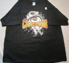Chicago White Sox Black T-Shirt XL 2005 American League Champion Vintage... - $7.50