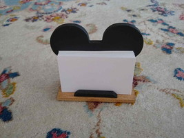 Mickey Mouse Inspired Desktop Business Card Holder - $24.95