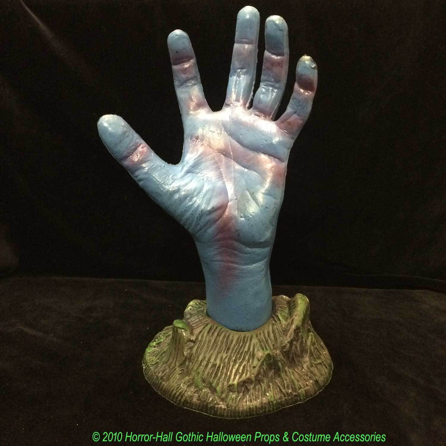 Life Size SEVERED ZOMBIE HAND Halloween Ghoul Groundbreaker Prop Yard Decoration