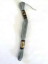 Cross Stitch Floss DMC  No 117 Cotton #927 6 Ply 8 M Skein Blue set of 14 - $6.66