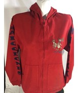 Los Algodone B.C Mexico Unisex Hoodie Long Sleeve Red Native Theme  Size 34 - $14.01