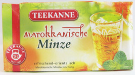 Teekanne Moroccan mint Tea - 20 tea bags- Made in Germany - $5.69