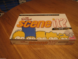 The Simpsons Scene It? The DVD game board 13 + 2 or more players NEW SEALED - $8.90