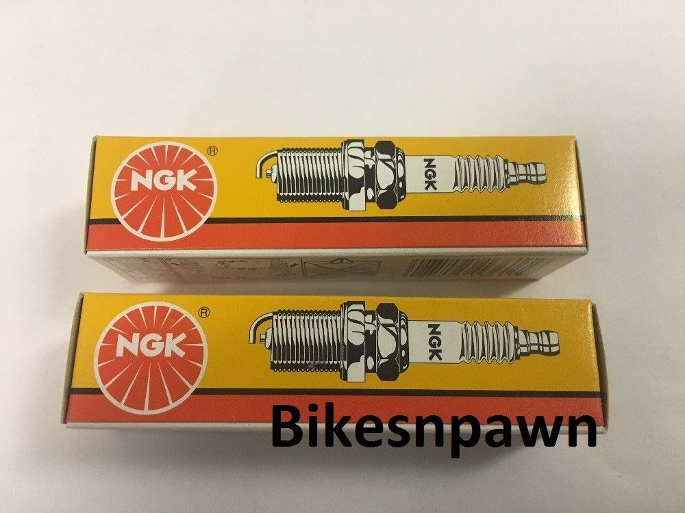 2 (Two) Pack New NGK Spark Plugs DCPR7E   #3932 Harley Twin Cam 99-16