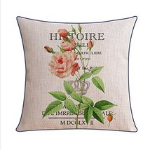 Kylin Express Beautiful American Pastoral Thick Cotton Pillow Case,S - $20.58