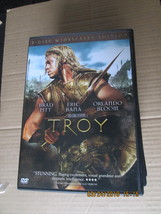 Troy  2-Disc Wide Screen Ediition DVD Brad Pitt - $6.24