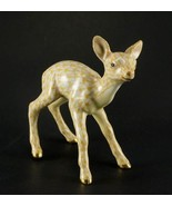Herend Porcelain Fawn Figurine, SVHJM---15621, First Edition, Yellow Fis... - $285.00