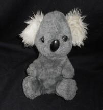 """10"""" VINTAGE ANIMAL FAIR GRAY BABY KOALA TEDDY BEAR FUZZY EARS STUFFED PL... - $38.24"""