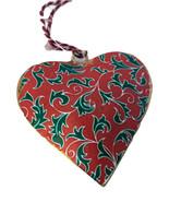 Holly  Heart Ornament-Holiday! - $5.99
