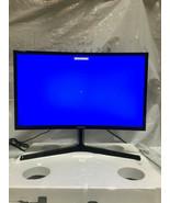 Samsung C24RG50FQN 24inch Curved Monitor, open box, (No orginal box) - $189.62