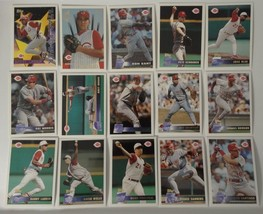 1996 Topps Cincinnati Reds Team Set of 15 Baseball Cards - $5.00