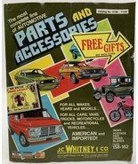 J.C. Whitney & Co. Parts And Accessories Catalog 1978 373B Vintage Car T... - $14.20
