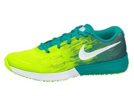 Nike Zoom Speed TR Trainer Running Gym Shoes Volt Green White Mens Size 9.5 NEW - $54.45
