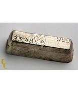 G/R main coulé Vintage Miche style .999 Argent fin BARRE 23.48 Onces - $885.29
