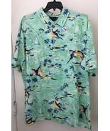 Ralph Lauren Big and Tall Mens Hawaiian S/S Polo Shirt NWT 2XLT - $55.86