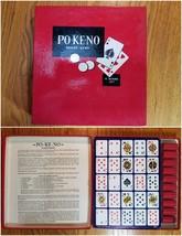 Po-Ke-No Poker Keno Vintage Card Game  - $19.99