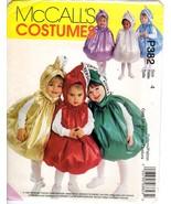 McCall's 9485 Hershey Kisses Costume Halloween Size 4 Children Toddler U... - $9.47