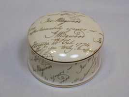 Josiah Wedgwood Signature Bicentenary Celebration 1995 Trinket Box Bone China  - $36.99