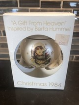 "Vtg Schmid ""A Gift From Heaven"" Inspired by Berta Hummel Christmas 1984 Ornament - $19.78"