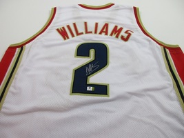 MO WILLIAMS - CLEVELAND CAVALIERS - HAND SIGNED CUSTOM BASKETBALL JERSEY... - $119.00