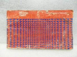 DODGE DART      1975 Owners Manual 16400 - $18.76