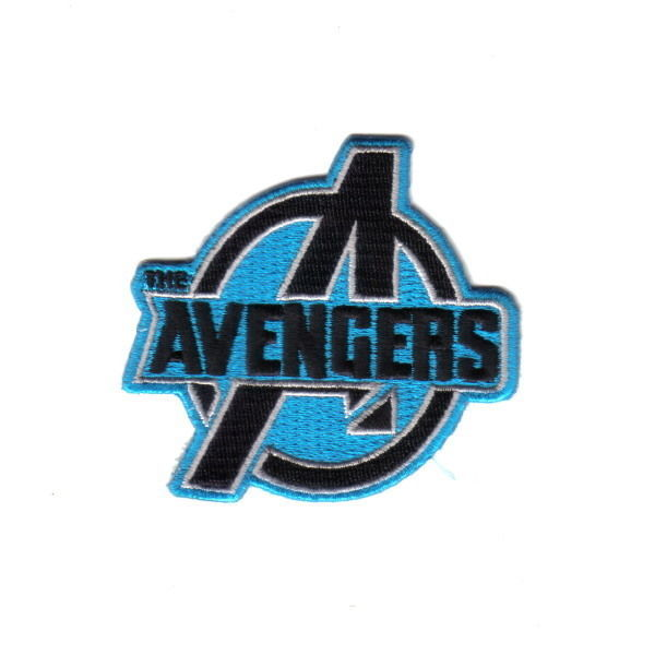 Marvel Comics: The Avengers Logo Blue Embroidered Patch, NEW UNUSED