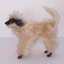 Beauty Barbie Dog 1979 Vintage Mattel Afghan Hound  Poseable Articulated - $29.99