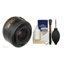 Nikon AF-S Nikkor 35mm f/1.8G DX Lens 2183 WITH A CLEANING KIT - $201.95