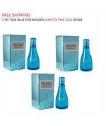 3 Pcs True Blue Perfume for Women Fragrance Spray 3.4oz Limited Time Sale - $29.69
