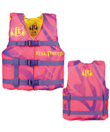 Full Throttle Character Life Vest - Youth 50-90lbs - Pink - $40.82