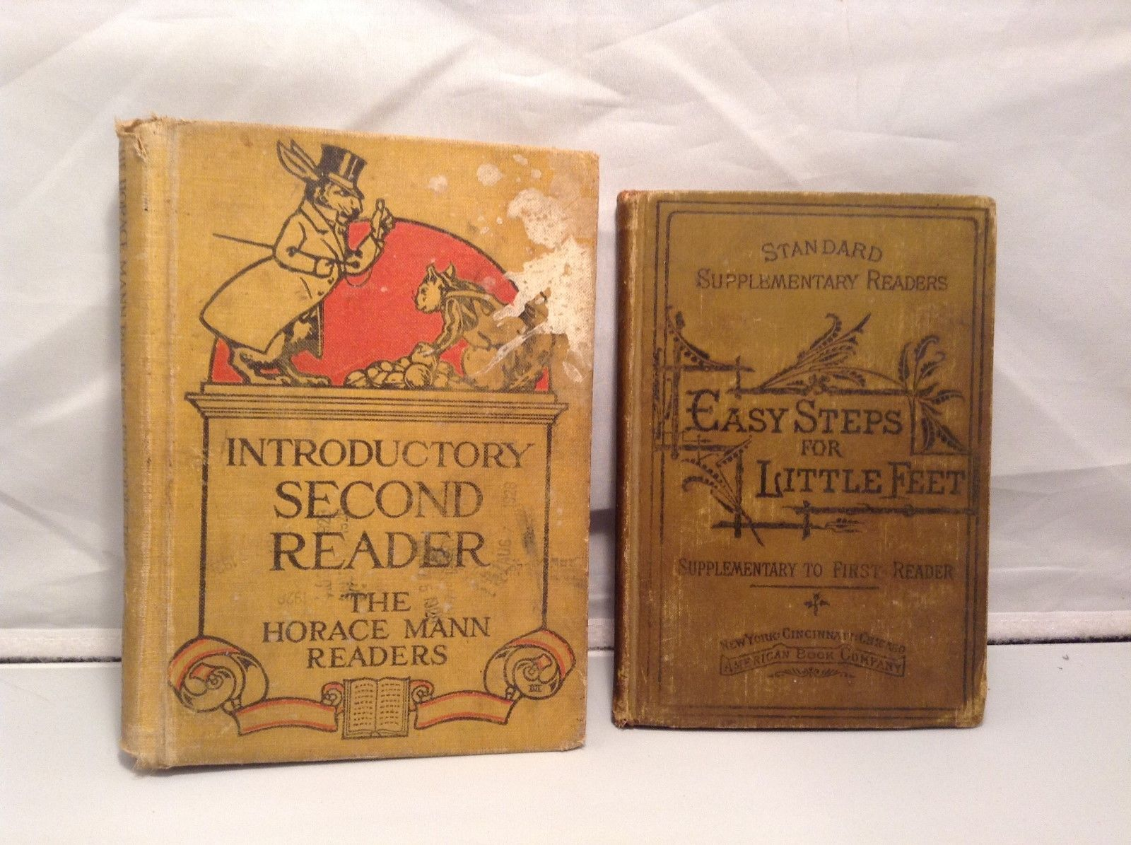 Vintage Set of Educational Books