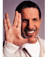Star Trek's Leonard Nimoy , Live long and prosper  - $7.18
