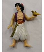 #2 L@@K DISNEY ALADDIN TOY FIGURE ABOUT 4 INCHES TALL (A) - $3.50