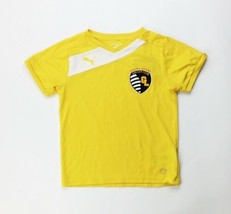 Puma Grand Ledge Santiago Soccer Club Jersey Shirt Youth S M L 655501 Yellow - $9.20