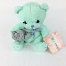 Precious Moments Calenbear Cuties Green May Plush - $11.87